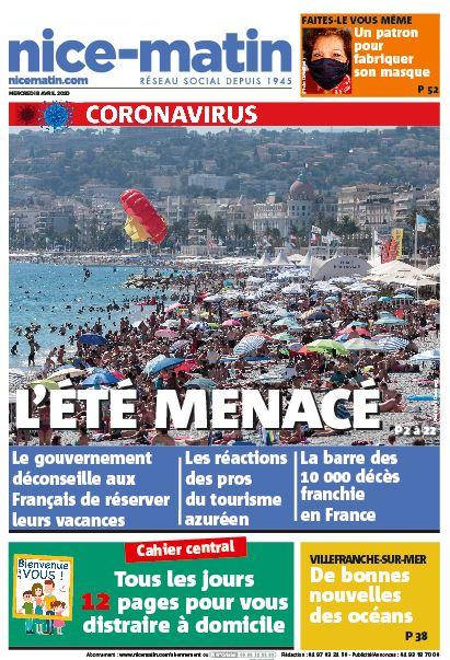 Nice-Matin – 8 avril 2020